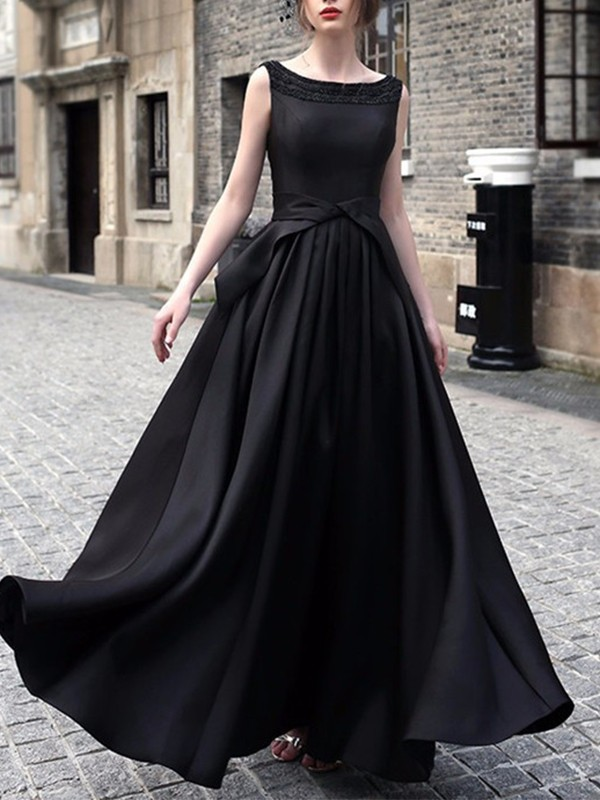 black ruffle cut out backless sleeveless party maxi dress