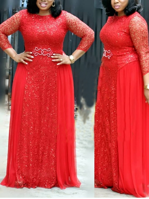9de0748c Red Patchwork Lace Bright Wire Pleated Long Sleeve Sparkly Glitter Party  Maxi Dress - Maxi Dresses - Dresses