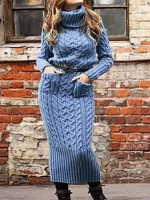 Blue Print Fashion One Piece Maxi Dress