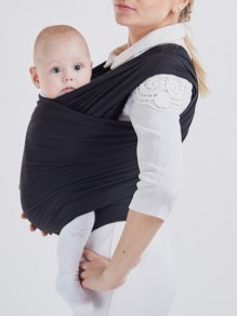 Black Patchwork Belt Irregular Sleeveless Oversized Maternity Vest