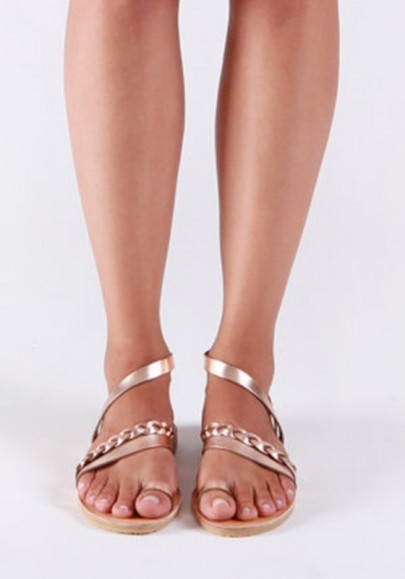 13ebb6c5947 Rose Golden Round Toe Fashion Ankle Sandals - Happy Hour