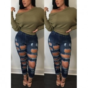 Army Green Plain Round Neck Long Sleeve Pullover Sweater