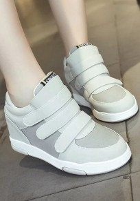 Grey Round Toe Flat Within The Higher Casual Shoes